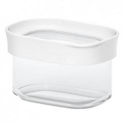 EMSA boîte de conservation OPTIMA, 0,18 L, transparent/blanc