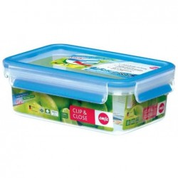 EMSA Boîte Alimentaire Clip & Close 2.0  Rectangulaire 0,8 L