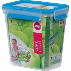 EMSA boîte de conservation CLIP & CLOSE, 1,60L, transparent