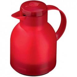 EMSA Verseuse isotherme SAMBA 1,0 litre, rouge translucide