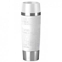 EMSA mug isotherme TRAVEL MUG Grande, 0,50 litre Blanc