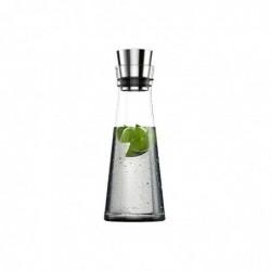 EMSA Carafe fraîcheur FLOW SLIM Carafe 1,0 litre Verre Acier