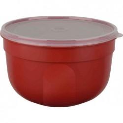 EMSA boîte de conservation SUPERLINE, 2,25 litres, rond, Rouge