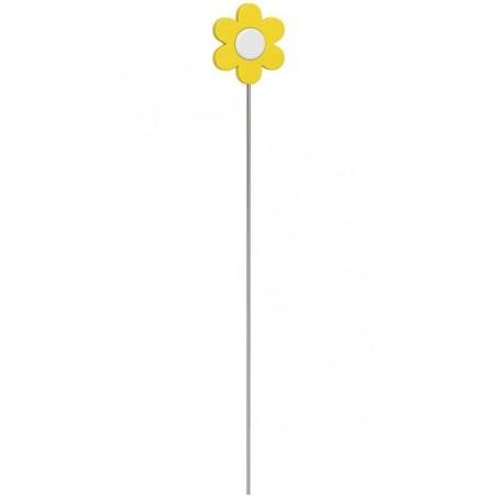 EMSA Landhaus Pique fleur décoratif pour bac à fleur Jaune