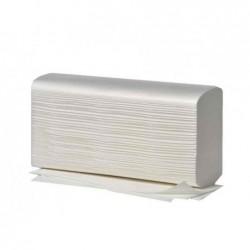 FRIPA Carton de 25 x 125 Feuilles Essuie-mains 203x320 mm Pliage W 2 Ep Blanc