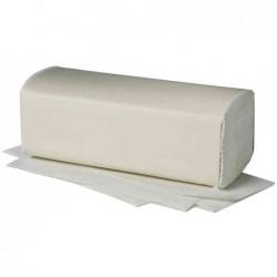 FRIPA Carton de 20 x 150 feuilles Papier essuie-mains 250x230 mm Pliage V 2 plis Blanc