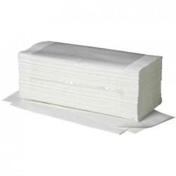 FRIPA Carton de 20 x 250 feuilles Papier essuie-mains Pli V Ft 25x23 cm Blanc