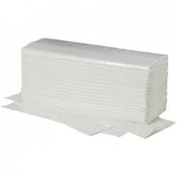 FRIPA Carton de 20 x 156 Feuilles 25x33 cm Essuie-mains Ideal Pliage C 1 couche Blanc