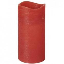 PAPSTAR Bougie LED, hauteur: 100 mm, rouge