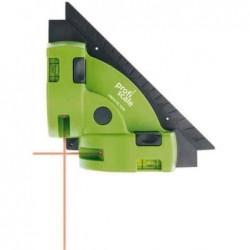 BURG-WÄCHTER Equerre à laser CROSS PS 7510 Vert/gris