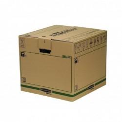 FELLOWES Pack de 5 cartons de déménagment R -Kive Taille L (L)457 x (P)457 x (H)406