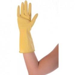 """FRANZ MENSCH paire de gant universel en latex """"BETTINA"""" HYGOSTAR, taille XL Jaune"""