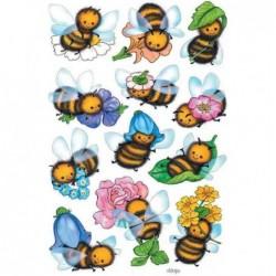 "HERMA sticker DECOR ""abeilles amusantes"" 3 x 12 Sticks"