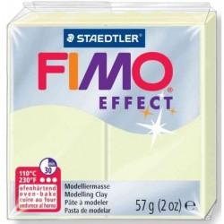 FIMO 1x Pâte à modeler à cuire EFFECT Lumière nocturne (phosphorescente) 56 g