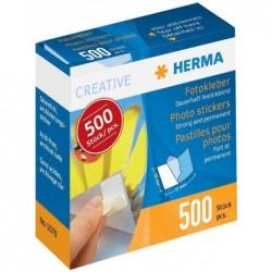 HERMA Boite distributeur de 500 Pastilles 12x17mm  pour photos