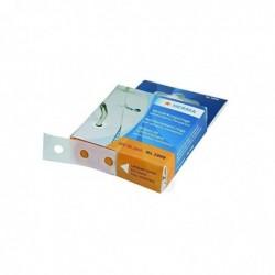 HERMA Boîte de 500 Oeillets de renforcement plastique Transparent adhésif