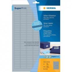 HERMA Etiquettes brillantes SPECIAL, 88,9 x 46,6mm, blanc