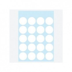 HERMA Sachet de 100 étiquettes multi-usages Diam 19 mm Blanc
