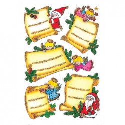 "HERMA Sticker DECOR ""Lettres de Noël"" 2 x 5 Stickers"