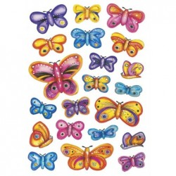 """HERMA Stickers DECOR """"papillons"""""""