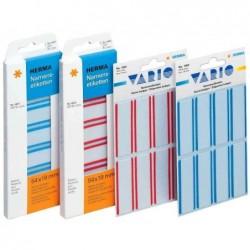 HERMA étiquettes-badges 88,9 x 33,8mm, soie d'acétate, bord blanc, 25F A4