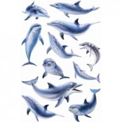 "HERMA stickers MAGIC ""poissons"", Jewel"