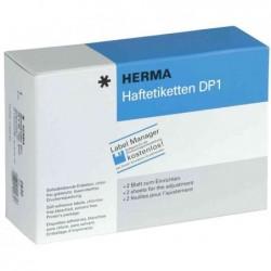 HERMA étiquettes adhésives DP1, 22x32 mm, blanc, pour
