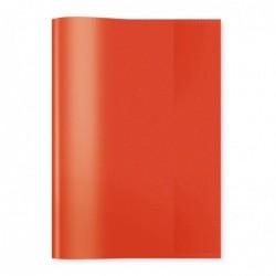 HERMA protège-cahiers format A5 en PP Rouge transparent