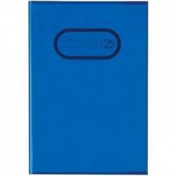 HERMA protège-cahiers format A5 en PP Bleu transparent