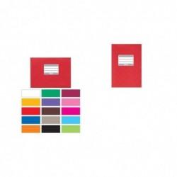 HERMA Protège-cahiers, format A5, en PP, couverture rouge