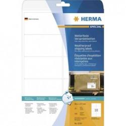 HERMA paquet de 150 Etiquette d'expédition SPECIAL résistantes 99,1 x 93,1 mm