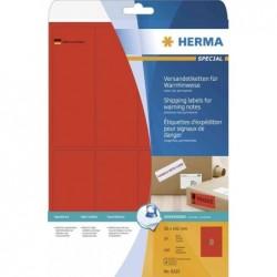 HERMA Étiquettes d'expédition SPECIAL, 50 x 142 mm, rouge néon