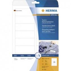 HERMA Etiquettes-badges SPECIAL, 199,6 x 143,5 mm, blanc