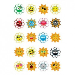 "HERMA Sticker MAGIC ""Crazy Suns"" Puffy 1 feuilles de 20"