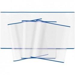 HERMA Lot de 10 Protège livre (H) 270 x (L) 540 mm Transparent