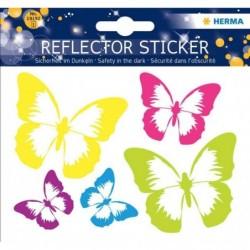 """HERMA Autocollants réflecteurs """"papillon"""" 5 sur 1 feuilles"""