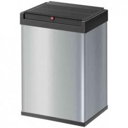 HAILO poubelle Big-Box Swing 40, 40 litres, argent