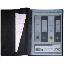 "ELBA Protège-documents ""Le Lutin Original"" PVC 30 Pochettes 60 Vues Bleu"