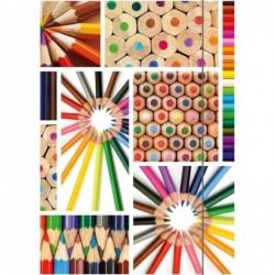 RNK VERLAG Chemise à dessin /chemise de rangement A3 Crayon de couleur