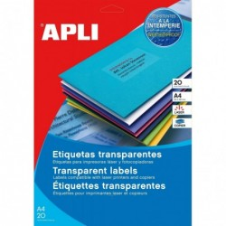 AGIPA Etui 20 étiquette A4...