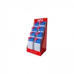 AGIPA Présentoir de 160 pochettes étiquettes scolaires