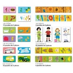 APLI Présentoir 6 puzzles 6 modèles assortis