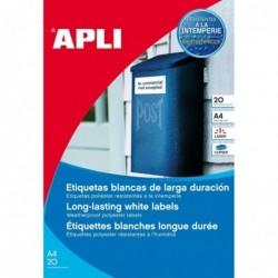 APLI Etui 480 étiquette...