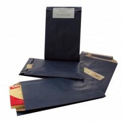 AGIPA Paquet de 250 pochettes plates Kraft 50g 24x6,5x41 cm Bleu Foncé