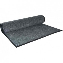 MILTEX essuie-pieds oléfine, 122 x 244 cm, gris