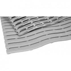 MILTEX tapis de travail Yoga Soft Step, 600 x 900 mm, gris