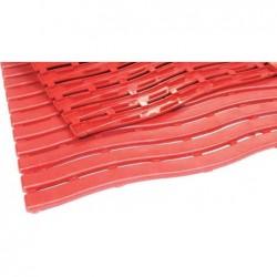 MILTEX tapis de travail Yoga Soft Step, 600 x 900 mm, rouge