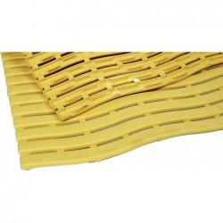 MILTEX tapis de travail Yoga Soft Step, 600 x 900 mm, jaune