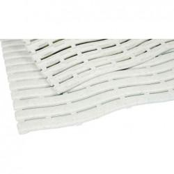 MILTEX tapis de travail Yoga Soft Step, 600 x 900 mm, blanc