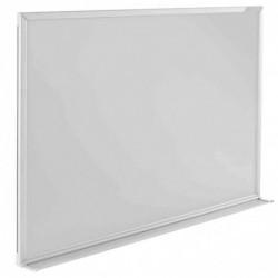 MAGNÉTOPLAN Tableau blanc CC émaillé cadre Alu 900 x 600 mm